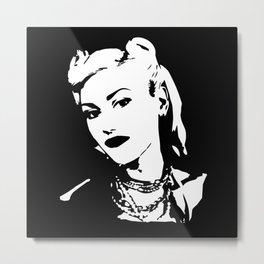 Gwen no doubt Metal Print