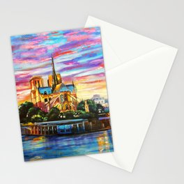 Paris, Notre Dame Cathedral  Stationery Cards