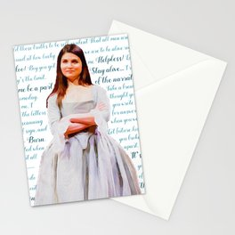 Let Me Be a Part of the Narrative Stationery Cards