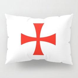 Knights Templar cross Pillow Sham