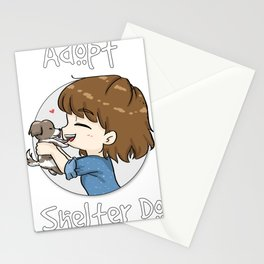 AdoptAShelterDog Stationery Cards