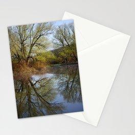 Botanical Reflection Landscape Stationery Cards