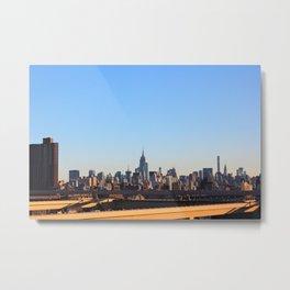 New York Urban Skyline  Metal Print