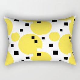 Abstract New York Taxi Rectangular Pillow