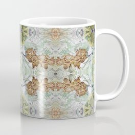 Orchid Floral Mirrored Pattern. Coffee Mug