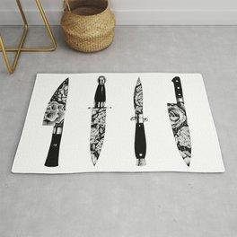 Floral Knives Rug