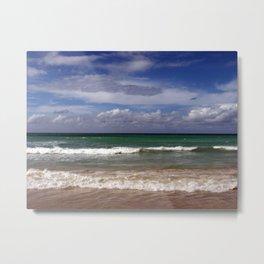 Water, Waves, Sand... | Nadia Bonello Metal Print