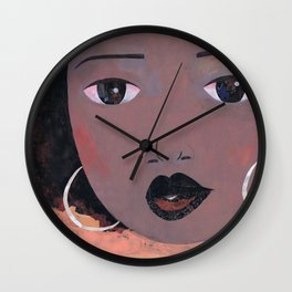 New Fro #1 Wall Clock