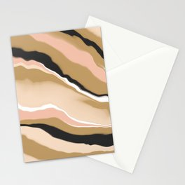 Abstract colored stripes 63 Stationery Cards