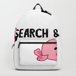 Blobfish Sea Creature Search Biologist Team Backpack