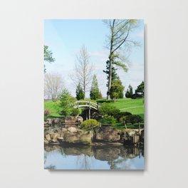 Bridge over untroubled waters Metal Print