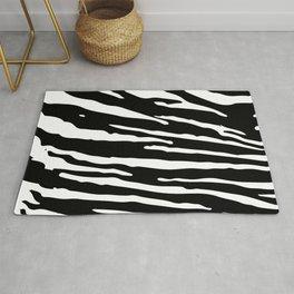Stripes Pattern Mackerel Rug