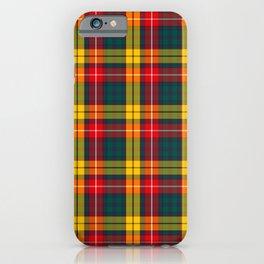Buchanan Scottish Tartan iPhone Case