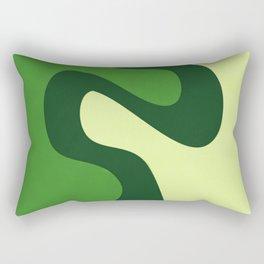 The Skigen (Forest Green) Rectangular Pillow