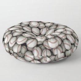 Baseballs Floor Pillow