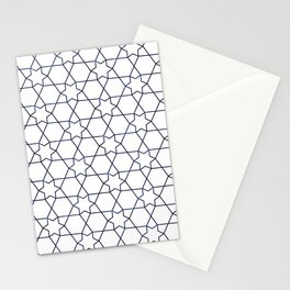 Moroccan Pattern Neck Gator Star Morrocan Stationery Cards