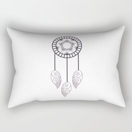 Dreamcatcher spider web charm Rectangular Pillow