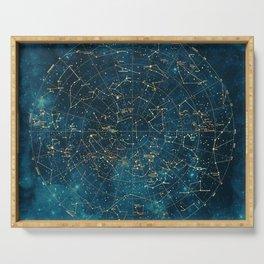 Under Constellations Serving Tray
