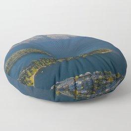 Queenstown New Zealand Floor Pillow