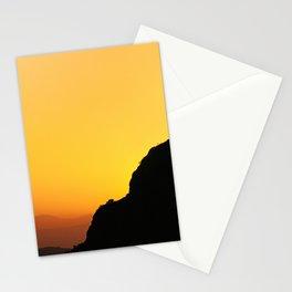 """Sunset at the mountains"". Boca de la Pescá""(1.512 meters). Stationery Cards"
