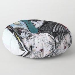 Rozzferatu - Fanart for Rozz Williams Floor Pillow
