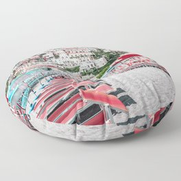 Positano Paradise Floor Pillow