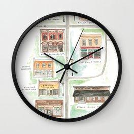 Downtown Rockford, MI Wall Clock