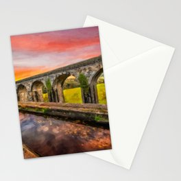Chirk Aqueduct Sunset Stationery Cards