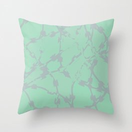 Thorns Mint Throw Pillow