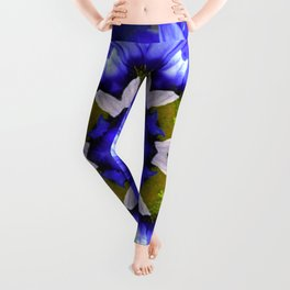 The Daisey Experiment in Abstract Leggings