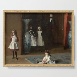 The Daughters of Edward Darley Boit by John Singer Sargent (1882) Serving Tray
