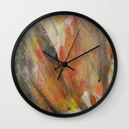 Abstract Secret Garden Wall Clock