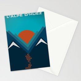 L'Alpe D'huez Stationery Cards