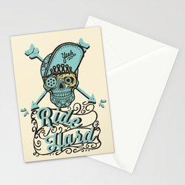 RIDE HARD light Stationery Cards
