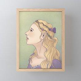 Blodeuwedd Framed Mini Art Print