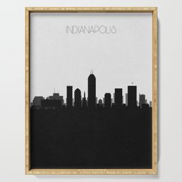 City Skylines: Indianapolis Serving Tray