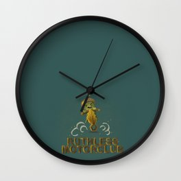 ruthless acorn motorclub Wall Clock