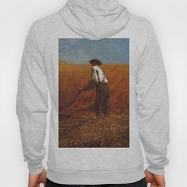 The Veteran In A New Field 1865 By WinslowHomer | Reproduction Hoody