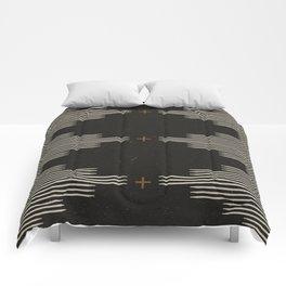 Southwestern Minimalist Black & White Comforters