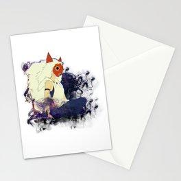Princess Mononoke Illustration - Smoke And Magical Fog Stationery Cards