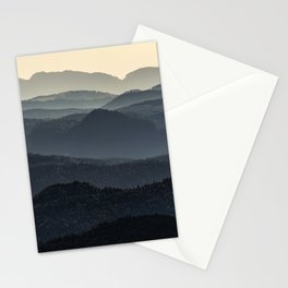Mountains of Transalpina Stationery Cards