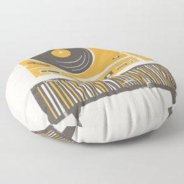 Vinyl Deck Floor Pillow