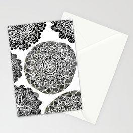 Mandala Mazes Stationery Cards