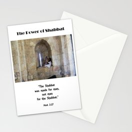 Power of Shabbat Stationery Cards