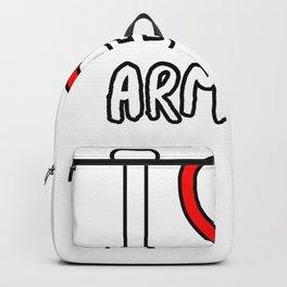 I Love Armenia Backpack