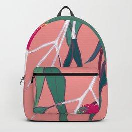 Gumnut Flower Poster Backpack