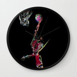 Air Jordan - art - graphic design  Wall Clock