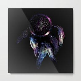 Cosmic Dreamcatcher design Metal Print