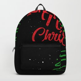 Beautiful Christmas Tree Backpack
