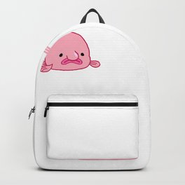 Blobfish Ugly Fish Sea Creature Backpack